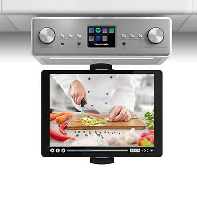 Radio internet Bluetooth pour cuisine à suspendre - DAB+ FM + support tablette