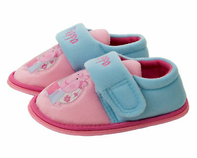 NEW Peppa Pig Florence Slippers sizes 5-10 uk Girls Sandals Shoes Pumps trainers