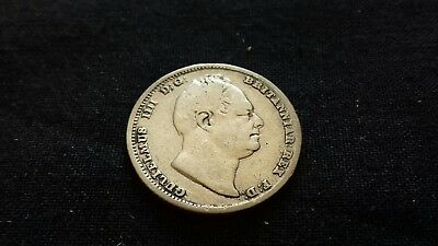 William IV Silver Sixpence 1834, in Very Fine condition. a13
