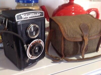 Voigtlander Brillant German TLR  Camera , See Photos Very Nice