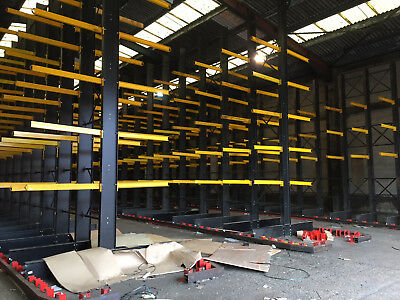 Used Industrial Cantilever Racking