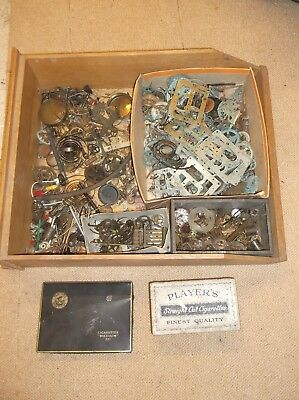 Very Large Amount Of Clock & Watch Parts @ No Reserve +