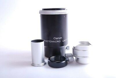 Canon Photomicro Unit F Canon FD Microscope Adapter