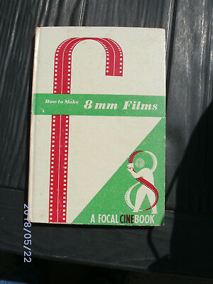 How to Make 8 mm. Films as an amateur by N. Bau 7th edition 1961 good condition