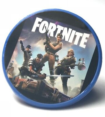 Fortnite Cupcake Toppers Rings Birthday Party Favors 16