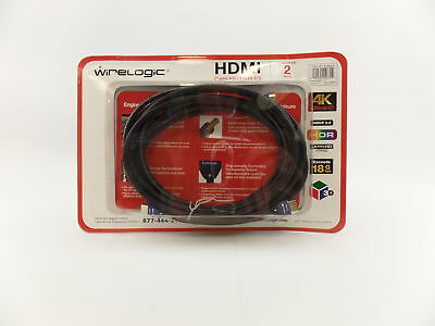 NEW WIRELOGIC 12FT Sapphire HDMI Cable 4k Ultra HD 12-Foot - $14.50 ...