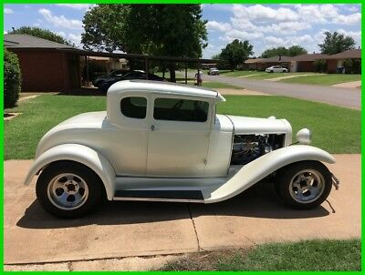 Ford Model A  1931 Ford Model A Coupe, 302 Ford V8, C-4 3-Speed Automatic Transmission