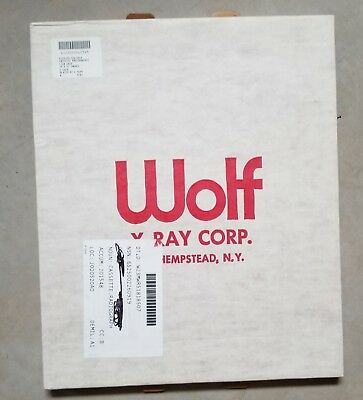 """Wolf X-Ray Radiographic Film Cassette Grid 14x17"""" Ratio 5:1 LPI 80 Focal 28-72"""""""