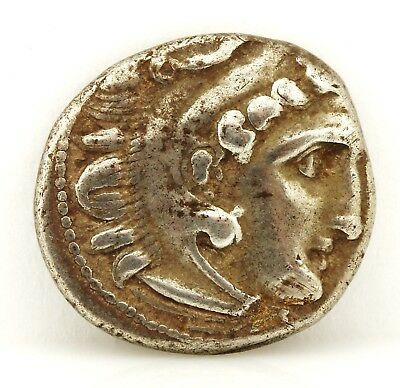 Ancient Greek Coin Authentic Silver Drachm Alexander III the Great 336-323 BC