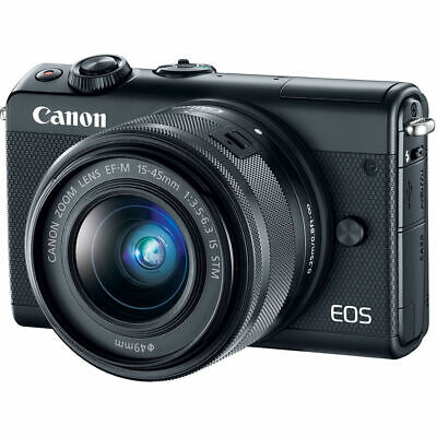 Canon EOS M100 24.2MP CMOS Full HD Mirrorless Digital Camera with 15-45mm Lens