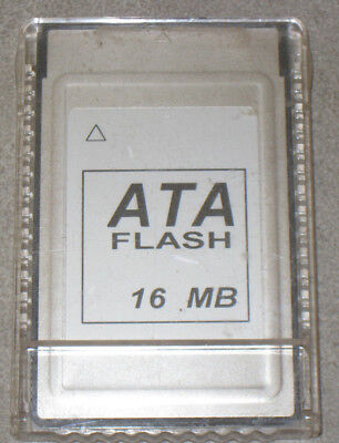 16 MB ATA Flash Memory Card PCMCIA PC Card, für Server, Router, Laptops....