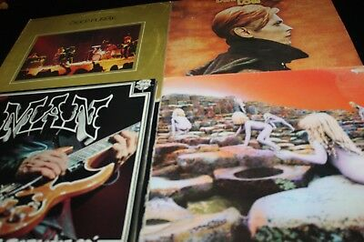 TEN YEARS AFTER, DAVID BOWIE, MAN, DEEP PURPLE, LED ZEPPELIN   u.a. 12 LP LOT