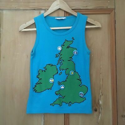 Tatty Devine for New Look Weather Forecast Badges UK Britain Vest Top 10 S