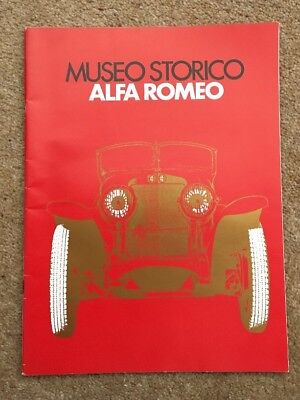 History Of Alfa Romeo 1910 - 1972. Very Collectable Item Pr0264