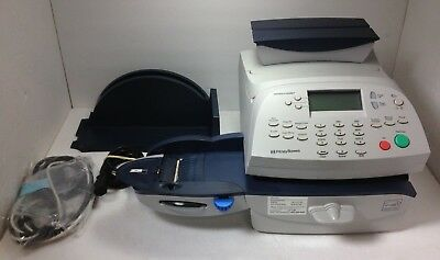 Pitney Bowes DM125 Model Pr00 Mailing Machine W/ Accessories PULLED WHEN WORKING