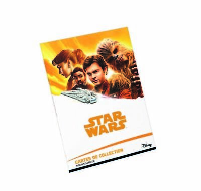 ALBUM COLLECTOR STAR WARS 2018 LECLERC VIDE Neuf