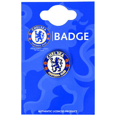 Chelsea Fc Crest Enamel Crest Pin Badge Football Club New Xmas Gift