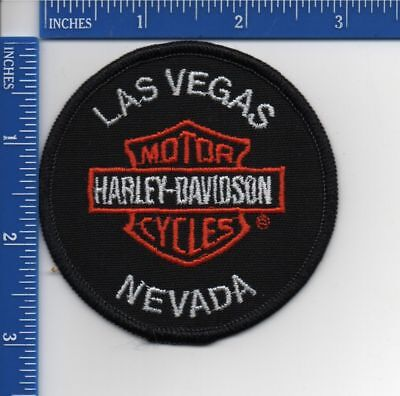 Authentic HARLEY DAVIDSON dealer patch: Las Vegas HD Nevada NOS