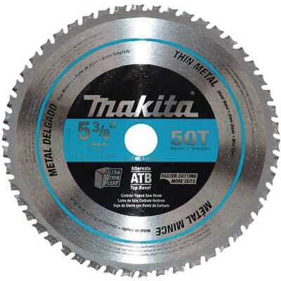"Makita A-94524 5-3/8"" 50T Carbide-Tipped Saw Blade, Ferrous Metal-Thin Gauge New"
