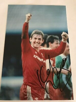 KENNY DALGLISH LIVERPOOL SIGNED 6X4 photo AUTOGRAPHED SIGNED 4
