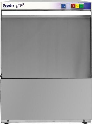 Prodis JET50 Undercounter Glasswasher, 500mm Basket & Gravity Drain (Boxed New)