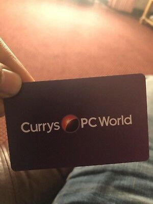 currys gift card Value 100 Pounds