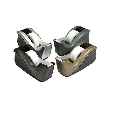 Scotch Heavy Weight Two Tone Tape Dispenser With 1 In Core 3/4 X 1500 In Black