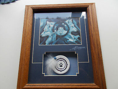Wolf Gate......in search of the pathfinder wood framed wall hanging