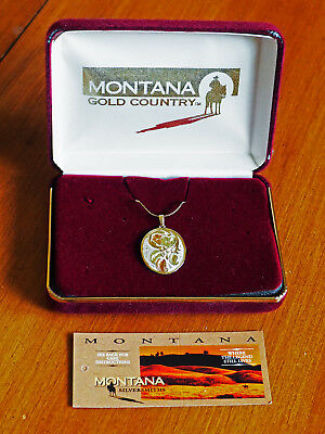 A GORGEOUS NECKLACE by MONTANA SILVERSMITHS COMES IN A MONTANA PRESENTATION BOX