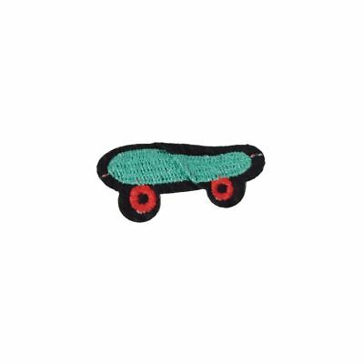 Skateboard (Iron On) Embroidery Applique Patch Sew Iron Badge