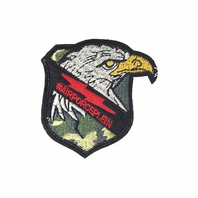 Air Force Eagle (Iron On) Embroidery Applique Patch Sew Iron Badge