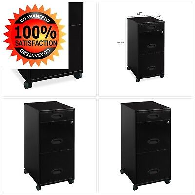 Lorell 3 Drawers Vertical Metal Lockable Filing Cabinet $CLICKnSAVE$ +$5 OFF!