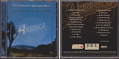 AMERICA Complete Greatest Hits 2001 CD Horse With No Name Sister Golden Hair 70s