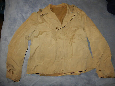 Original Wwii Us Army M1941 Parsons Combat Jacket With Button Liner