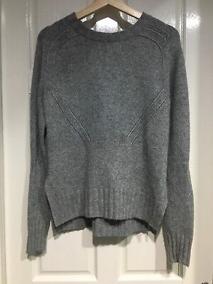 Country Road Knit Grey Jumper Size XS
