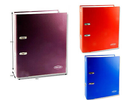 A4 Large 75mm Lever Arch Files - Office Stationery Filing Folder Documents 1/3/6