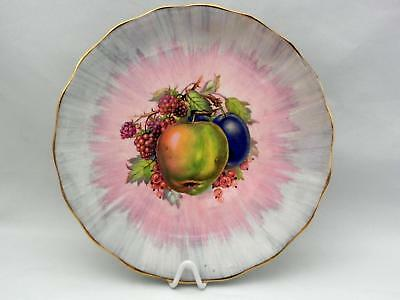 CLARICE CLIFF - Royal Staffordshire  FRUIT PATTERN - Display Plate - Mint