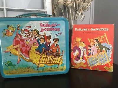 Bedknobs and Broomsticks Lunchbox And Book