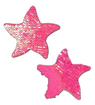 PASTEASE brand Pasties Sequined Starfish Nipple Pasties, Buy 2 Get 1 Free
