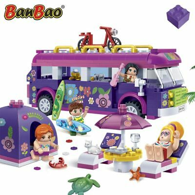 BanBao Strandparty Trendy Beach Konstruktion Spielzeug Bausteine 6123