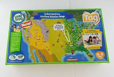 Leapfrog tag interactive world map 2 sided learning path leap frog leapfrog tag interactive united states map 2 sided learning path gumiabroncs Choice Image