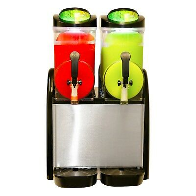 New Dual Bowl Margarita Slush Frozen Drink Machine - Donper XCH-224
