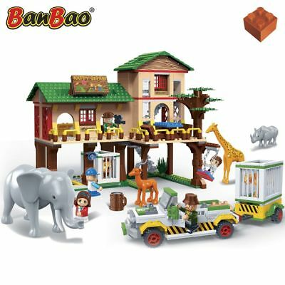 BanBao Safari-Lodge Konstruktion Spielzeug Bausteine 6651