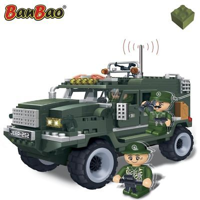 BanBao Humvee World Defence Force Konstruktion Spilezeug Bausteine Baukasten8252