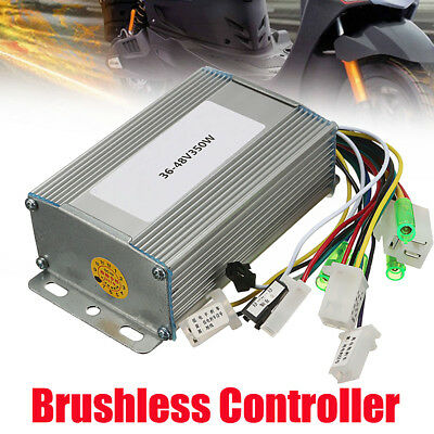 350W Brushless Motor Controller For Electric Hall eBike Bicycle Scooter