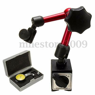 Universal Flexible Magnetic Metal Base Holder Stand Dial Test Indicator Tool m