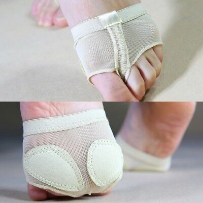 US Belly Ballet Dance Foot Thong Paws Cover Forefoot Toe Undies Half Lyrical Pad