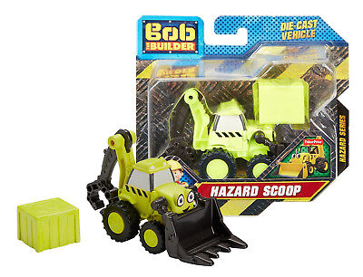Bob The Builder Hazard Scoop Die Cast Vehicle New in Package