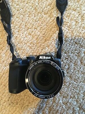 Nikon COOLPIX B500 16.0MP Digital Camera - Black Great condition