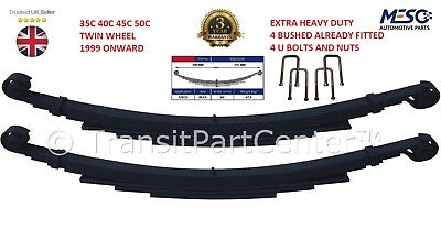 4 ( Four ) Heavy Duty Leaf Spring U Bolts Iveco Daily 35C 40C 45C 50C Twin Wheel